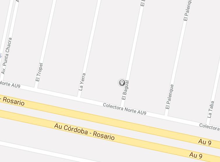 Foto Terreno en Venta en  roldan,  Rosario  Barrio Punta Chacra - El Bagual entre Av los Nogales y Cno. los Angeles