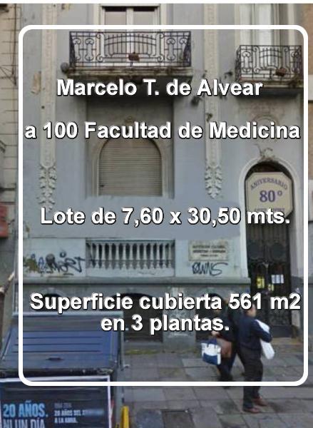Foto Hotel en Alquiler en  Palermo ,  Capital Federal  Marcelo T. de Alvear al 2001