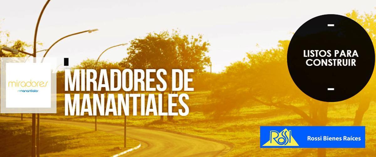 Foto Terreno en Venta en  Miradores de Manantiales,  Cordoba Capital  Miradores de Manantiales 2
