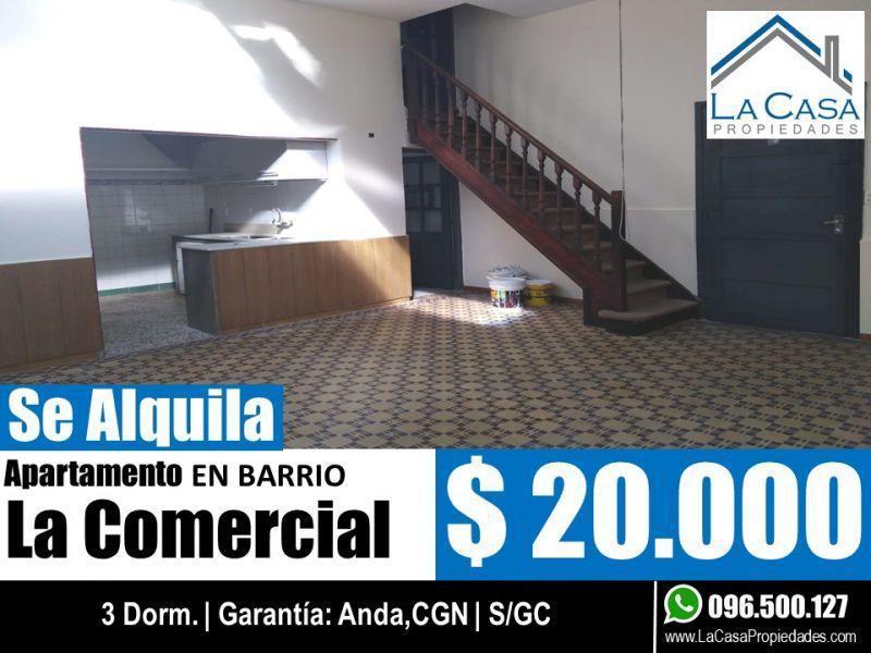 Foto Apartamento en Alquiler en  La Comercial ,  Montevideo  ISLA DE GORRITI 2000