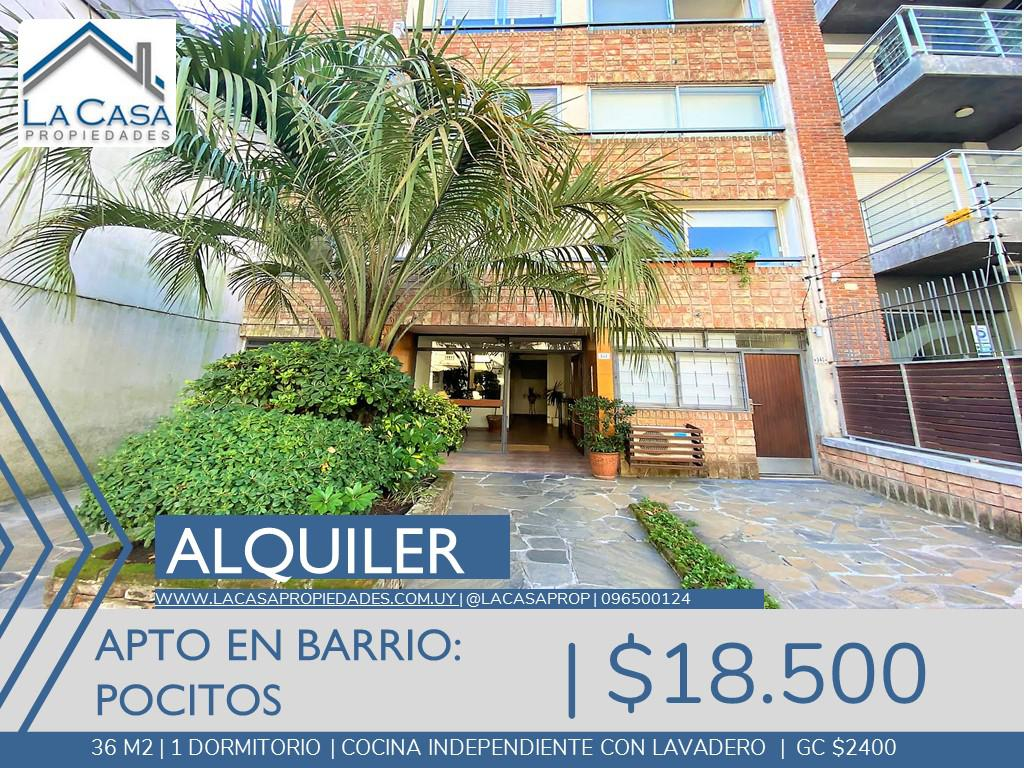 Foto Apartamento en Alquiler en  Pocitos ,  Montevideo  Obligado al 900