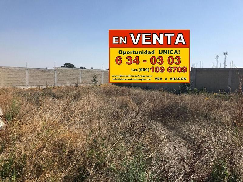 Foto Terreno en Venta en  El Aguila Real,  Tijuana  VENDEMOS EXCELENTE TERRENO 3,323 Mts² USO COMERCIAL E INDUSTRIAL A-gui