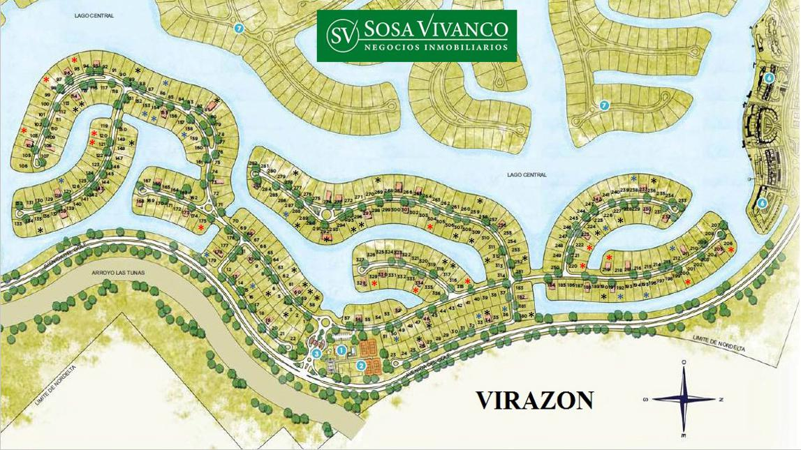 Foto Terreno en Venta en  Virazon,  Nordelta  Virazon 538