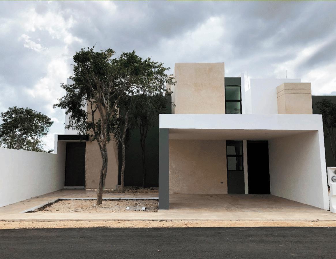 Foto Casa en Venta en  Conkal ,  Yucatán  Casa en venta en Merida, en privada residencial Zelena, entrega en abril