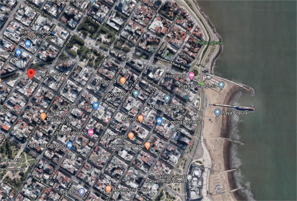 Foto Terreno en Venta en  Centro,  Mar Del Plata  Belgrano al 2900