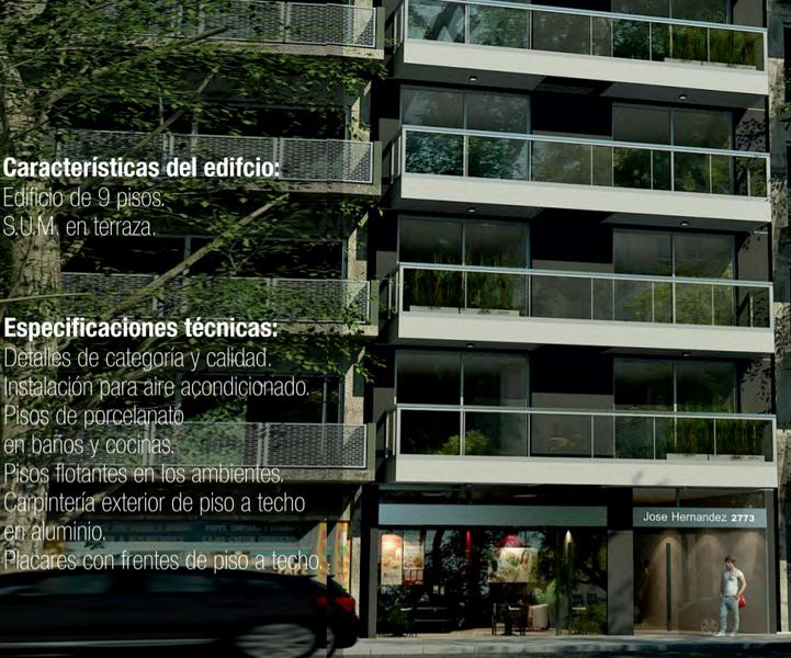 Foto Departamento en Venta en  Belgrano ,  Capital Federal  1 y 2 Ambientes Pozo en Belgrano. Entrega JUNIO 2021