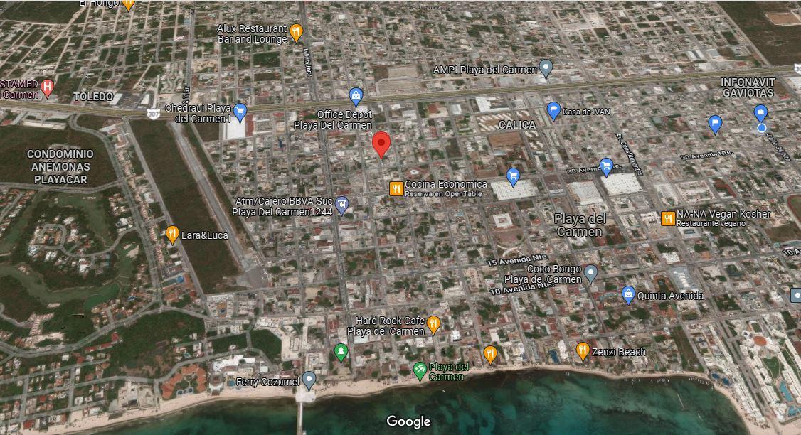 Foto Terreno en Venta en  Playa del Carmen Centro,  Solidaridad  TERRENO DE OPORTUNIDAD EN EL CENTRO DE PLAYA