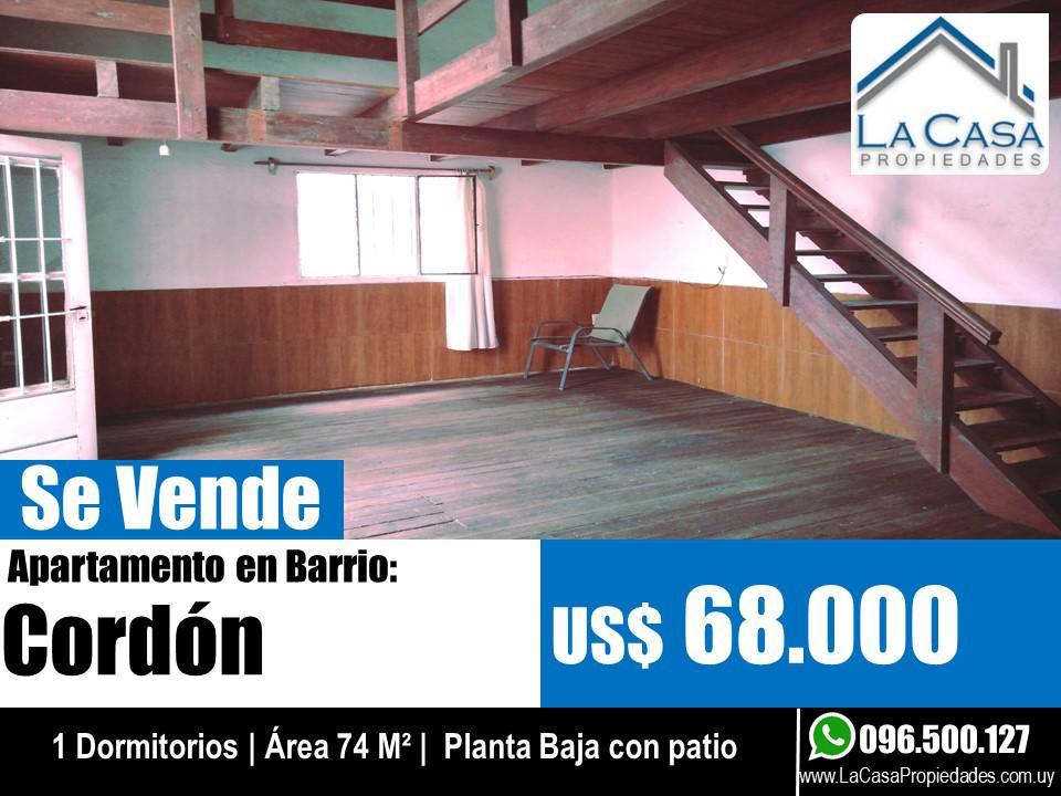Foto Apartamento en Venta en  Cordón ,  Montevideo  Arenal Grande al 1700