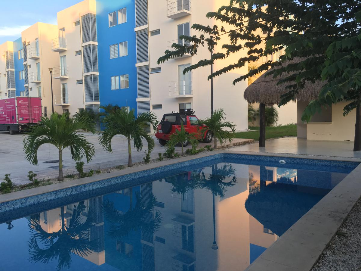 Foto Departamento en Renta en  Punta Estrella,  Solidaridad  Departamento 2 Recamaras Paraiso Sur en Renta