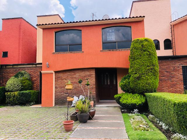Foto Casa en condominio en Renta en  Campestre del Valle,  Metepec  CASA EN RENTA EN METEPEC, CAMPESTRE DEL VALLE
