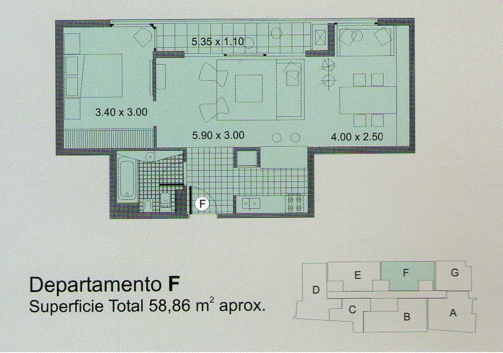 Foto Departamento en Venta en  Caballito ,  Capital Federal  Colpayo al 700