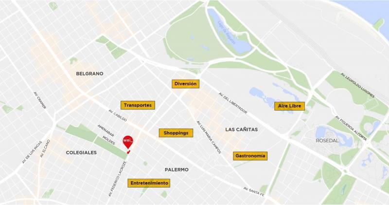 Foto Departamento en Venta en  Belgrano ,  Capital Federal  Moldes al 600