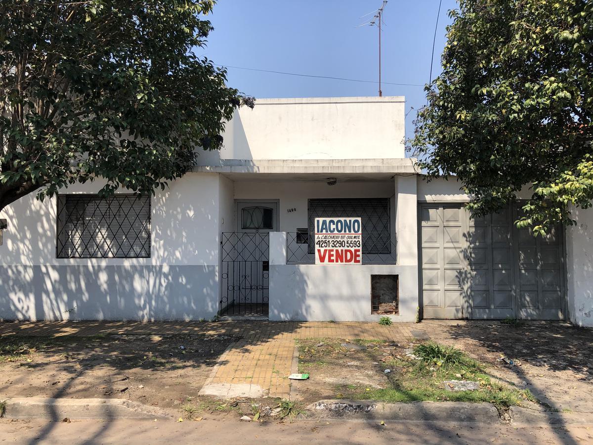Foto Casa en Venta en  Bernal Oeste,  Quilmes  Ameghino 1490 entre Gral. Álvarez y Victorica