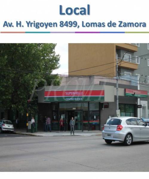 Foto Local en Venta |  en  Lomas De Zamora,  Lomas De Zamora  Hipolito Yrigoyen  al 8400