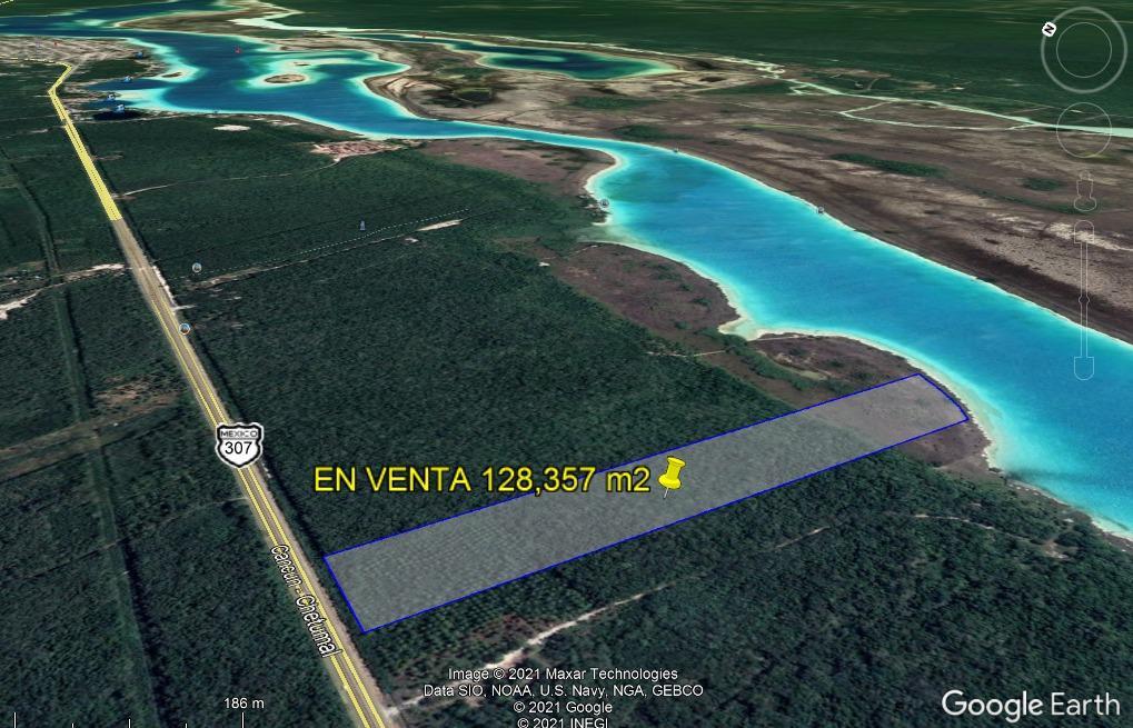 Foto Terreno en Venta en  Bacalar ,  Quintana Roo  TERRENO EN VENTA EN BACALAR PARA DESARROLLO 12.8 Ha