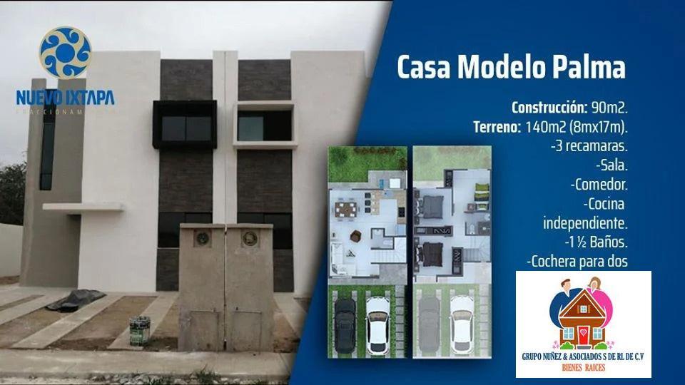 Foto Casa en Venta en  Fraccionamiento Nuevo Ixtapa,  Puerto Vallarta  MODELO PALMA LOTE 11