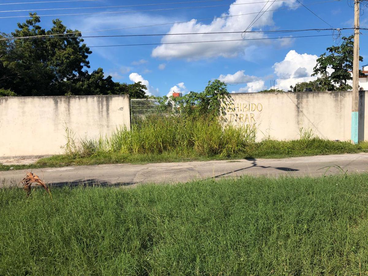 Foto Terreno en Venta en  Chetumal ,  Quintana Roo  Terreno bardeado en la colonia Campestre en Chetumal