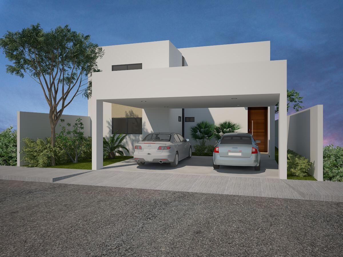 Foto Casa en Venta en  Pueblo Conkal,  Conkal  Casa en Privada Kanan (Frente a Parque).