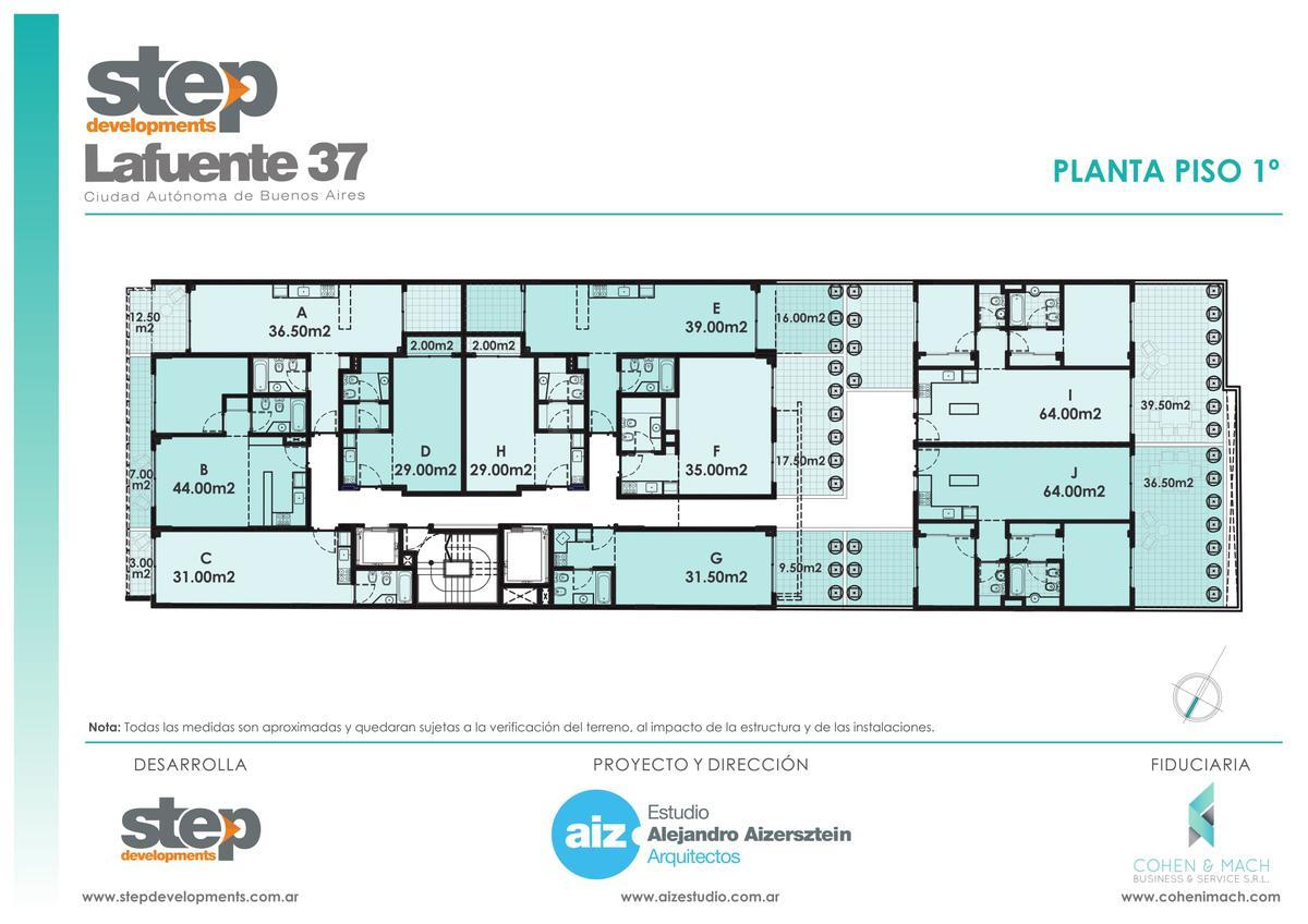 Foto Departamento en Venta en  Flores ,  Capital Federal  LAFUENTE 37  10 A