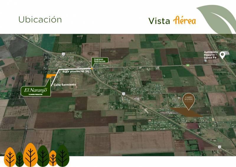 Foto Terreno en Venta en  Campos de Ibarlucea,  Ibarlucea   Ruta Provincial 34S (camino a Funes) 34