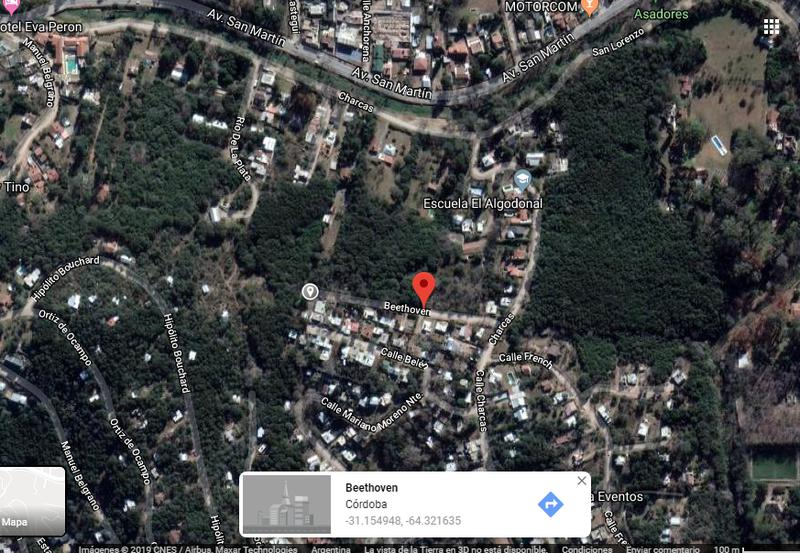 Foto Terreno en Venta en  Rio Ceballos,  Colon      FRACCIÓN 12.500m2  APTO LOTEO Rio Ceballos