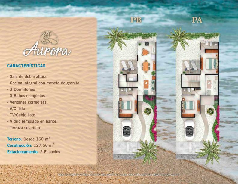 Foto Casa en Venta en  Progreso ,  Yucatán  Hermosas Casas en la playa  con club de playa y  amenidades