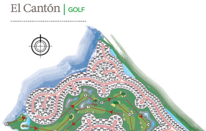 Terreno en Venta en El Canton - Golf de 0 ambientes