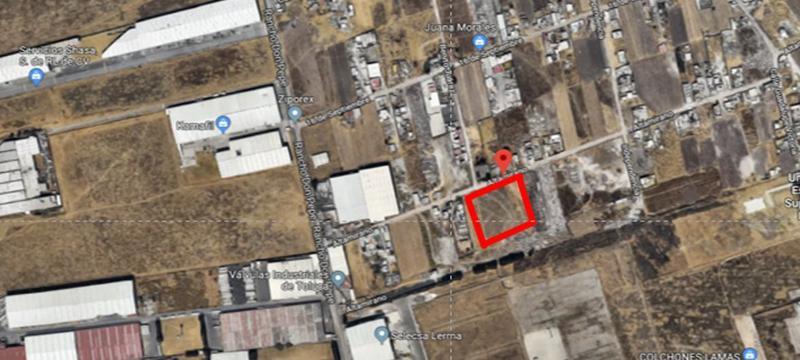 Foto Terreno en Venta en  Emiliano Zapata,  San Mateo Atenco  Venta de Terreno para Desarrolladores de 5,000 m2 Santa Rosa, San Mateo Atenco