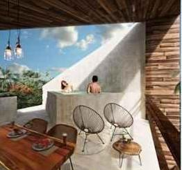 Picture Apartment in Sale in  Tulum ,  Quintana Roo  NEW Condos at Saskab Tulum  | Blues Real | Code 924