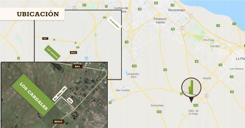 Foto Terreno en Venta en  Countries/B.Cerrado (La Plata),  La Plata  Ruta 6 y al 200