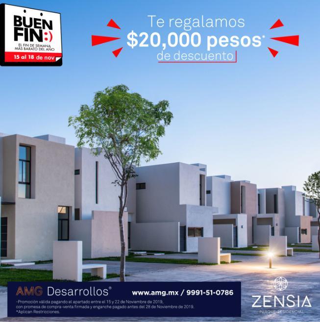 Foto Casa en Venta en  Pueblo Conkal,  Conkal  Casa en venta en Merida, Zensia Parque Residencial, modelo I