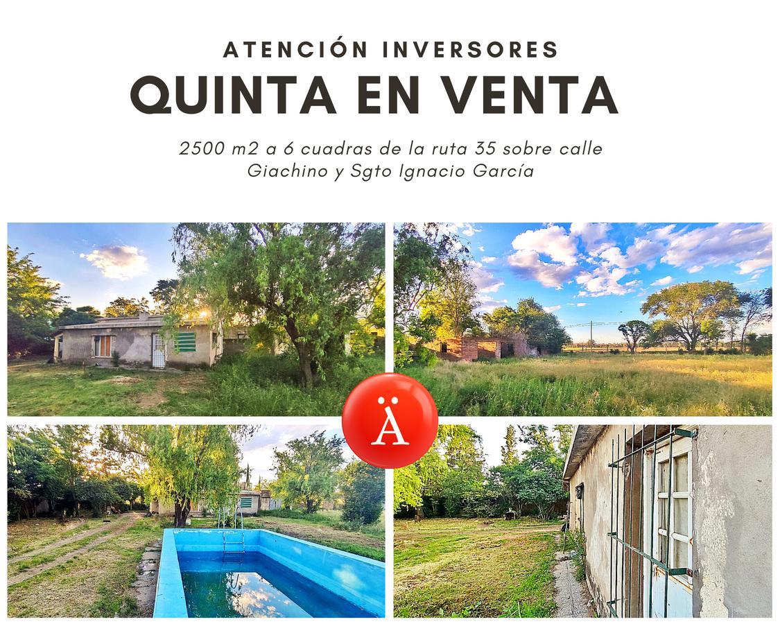 Foto Quinta en Venta en  Santa Rosa,  Capital  Giachino y  Eduardo Garcia