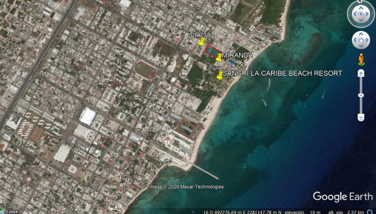 Foto Terreno en Venta en  Playa del Carmen Centro,  Solidaridad  PLAYA DEL CARMEN 40 NORTE