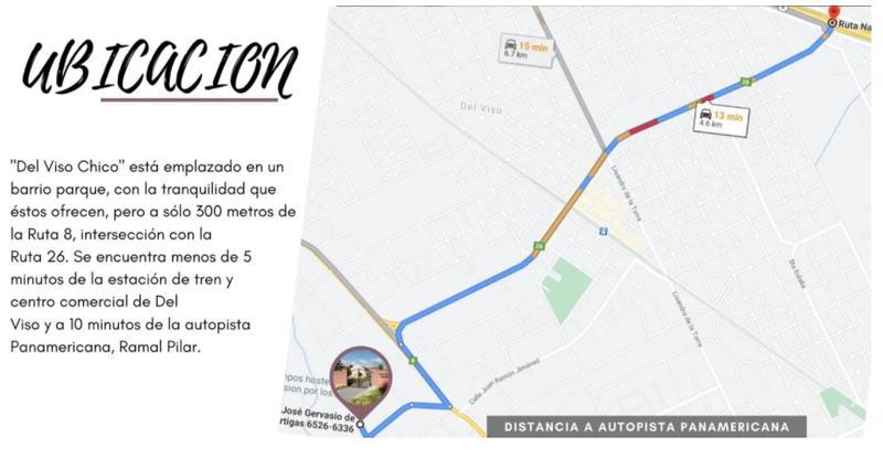 Foto Terreno en Venta en  Del Viso,  Pilar  Artigas 6707