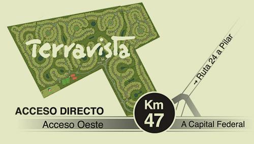 Foto Terreno en Venta |  en  Terravista,  Countries/B.Cerrado (G. Rodriguez)  Ruta 24 UF al 400