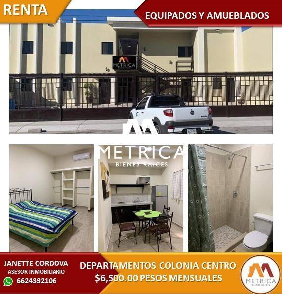 Foto Departamento en Renta en  Hermosillo Centro,  Hermosillo  DEPARTAMENTO RENTA CENTRO
