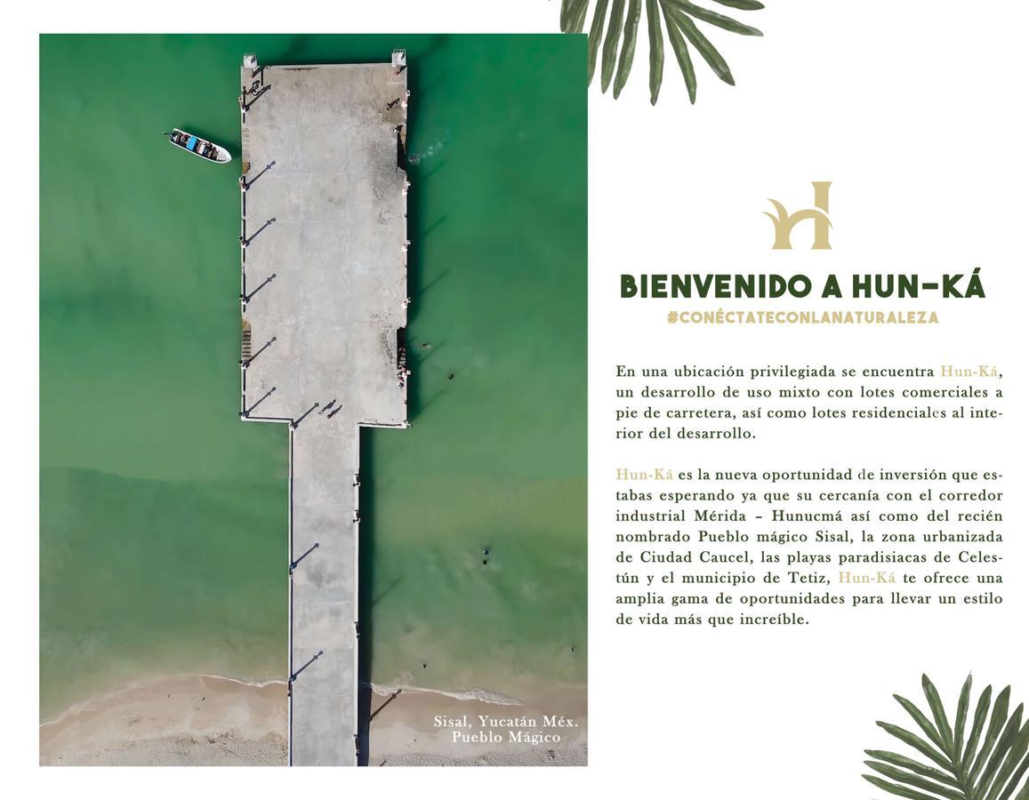 Foto Terreno en Venta en  Pueblo Hunucma,  Hunucmá  lotes semi urbanizados con acceso directo en el corredor merida hunucma, con servicios  y financiamiento
