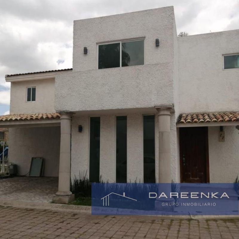 Alquiler de Casa 3 recamaras en Puebla Santa Cruz Guadalupe