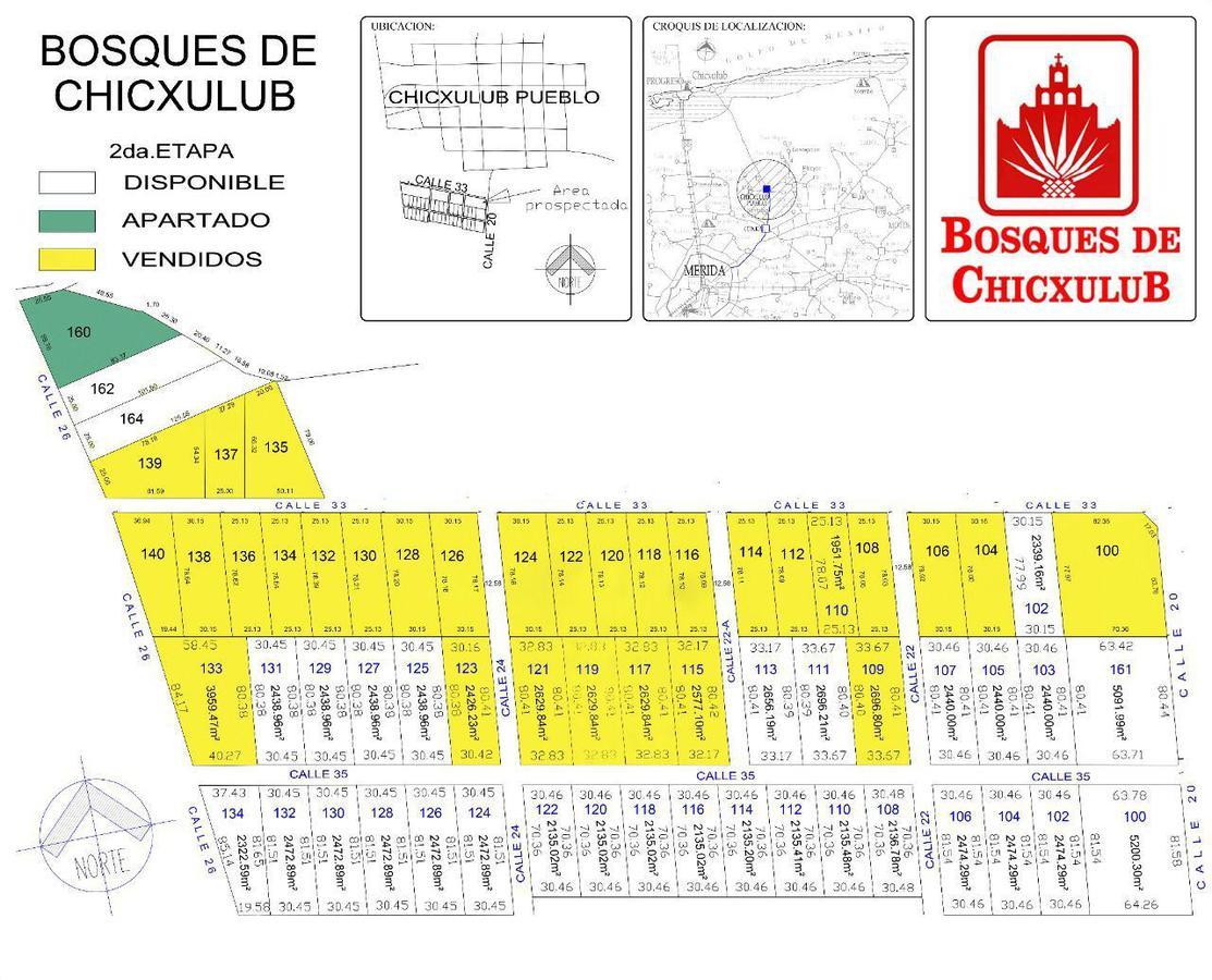 Foto Terreno en Venta en  Pueblo Chicxulub,  Chicxulub Pueblo  Terreno urbanizado en venta en Yucatan, calles pavimentadas y servicios- Conkal