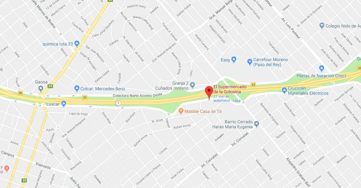 Foto Local en Alquiler en  Moreno,  Moreno  Colectora Sur Acceso Oeste 4118, Moreno, Buenos Aires
