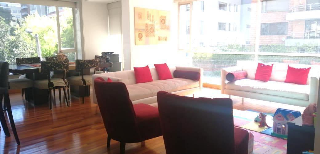 Foto Departamento en Venta en  González Suárez,  Quito  Venta departamento 2 Dormitorios -González Suárez / Gonessiat