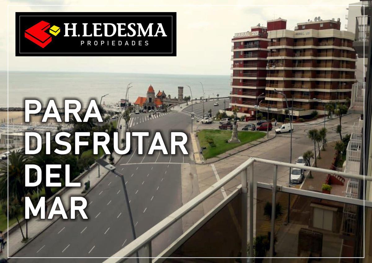Foto Departamento en Venta en  Torreon,  Mar Del Plata  BV MARITIMO Y GUEMES * FTE AL MAR