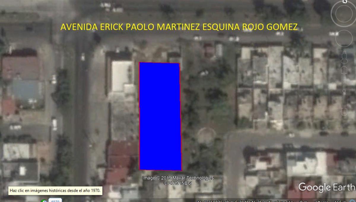 Foto Terreno en Venta en  Chetumal ,  Quintana Roo  AVENIDA ERICK PAOLO