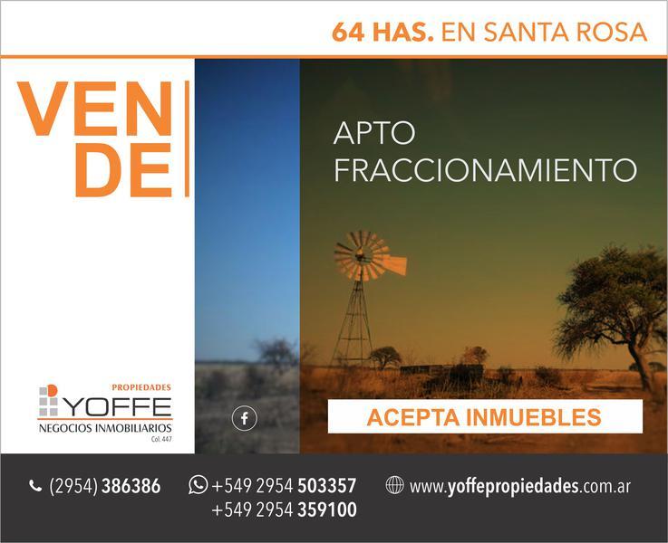 Foto Campo en Venta en  Capital ,  La Pampa  Tita Merello