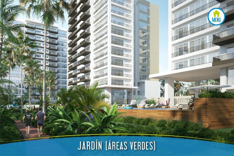 Foto Departamento en Venta en  El Table,  Cancún  Desarrollo Brezza Towers. Deptos. de Lujo. Tipo B de 2 Recs. 140 m2. El Table. Cancún
