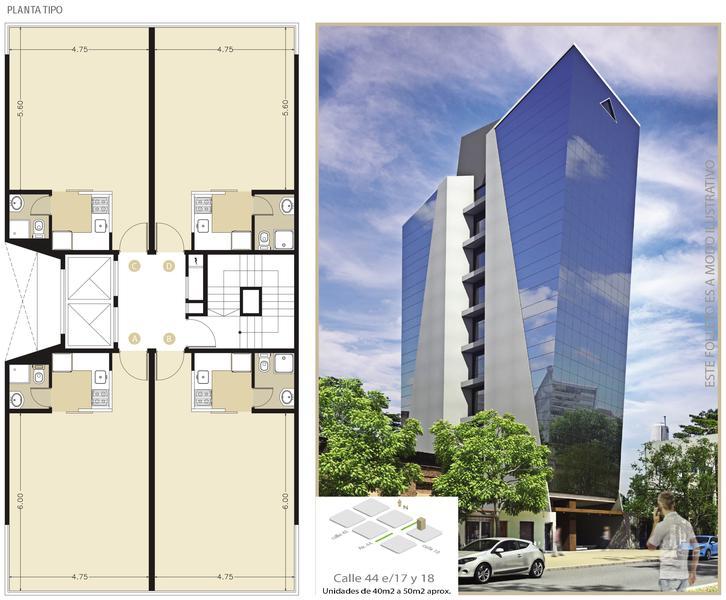 Foto Oficina en Venta en  La Plata ,  G.B.A. Zona Sur  44 entre 17 y 18