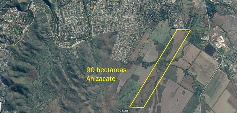 Foto Campo en Venta en  Valle de Anisacate,  Santa Maria  Campo ideal para Loteo - Anisacate
