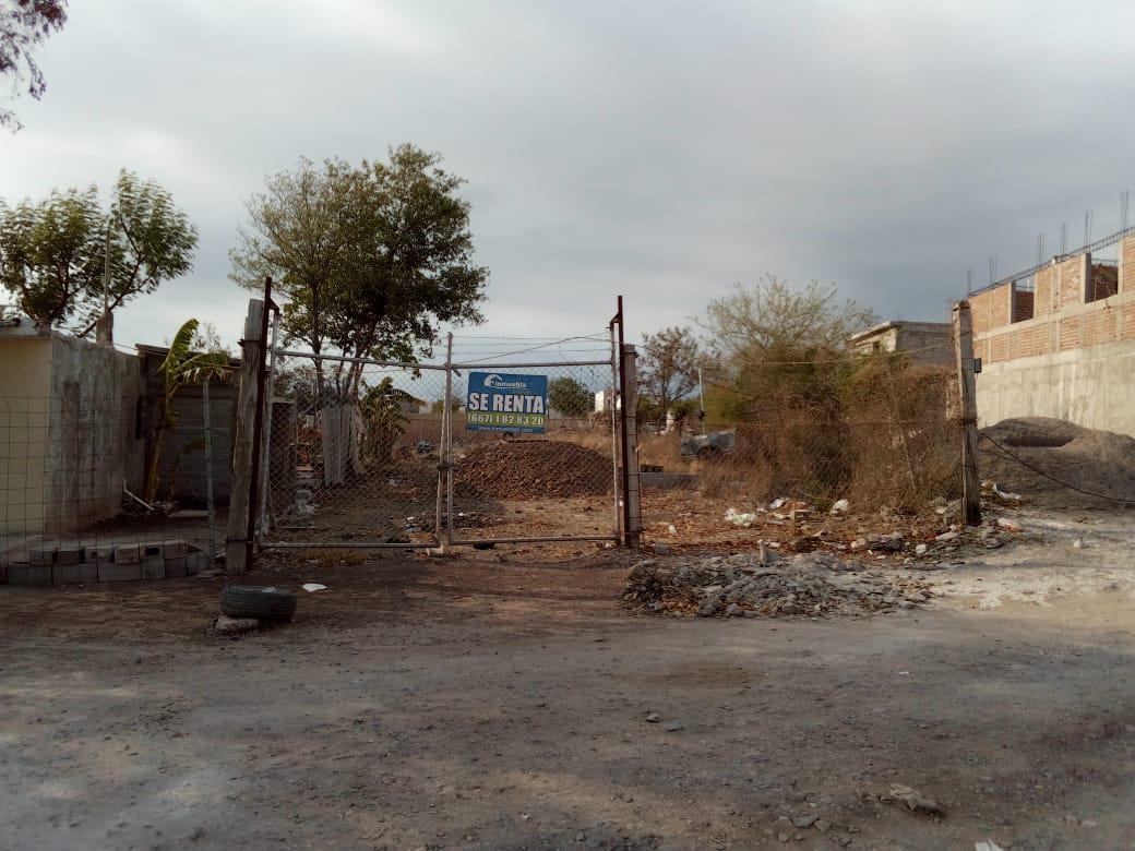 Foto Terreno en Renta en  Fraccionamiento Alturas del Sur,  Culiacán  Rento Terreno Comercial Zona Mercado de Abastos 600m2