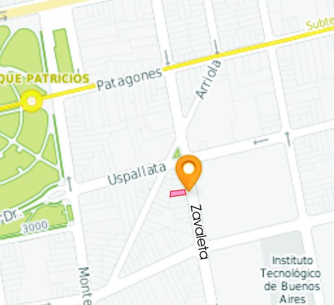 Foto Terreno en Venta en  Parque Patricios ,  Capital Federal  zavaleta al 200