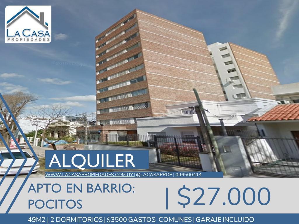 Foto Apartamento en Alquiler en  Pocitos ,  Montevideo  Osorioo al 1300